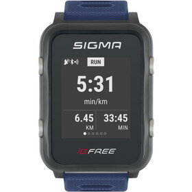SIGMA SPORT iD.FREE Multi-Sport Watch, blue